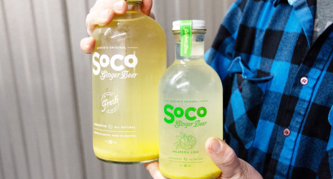 SoCo Ginger Beer spices up local farmer's markets