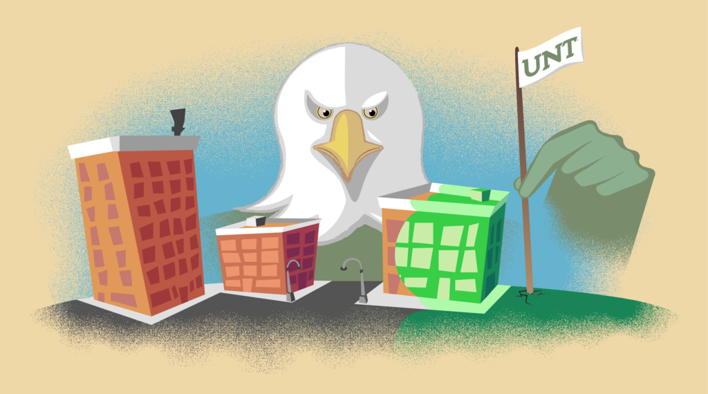 UNT's use of eminent domain to obtain land is a low blow on small businesses