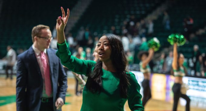 68-63 victory ends Mean Green's five game losing streak