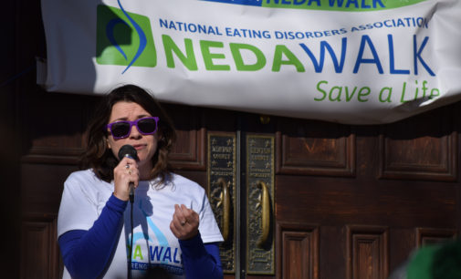 Third annual eating disorder awareness walk moves to the Square, raises more than $3,700