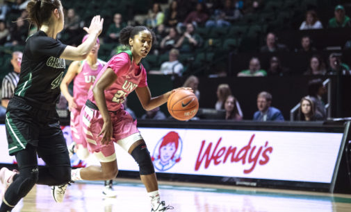 Terriell Bradley moving up all-time scoring charts as her senior season wraps up her career at UNT