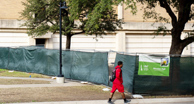 Wooten Hall renovation completion date pushed back once again