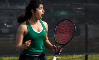 'Selfless' sophomore is a light for Mean Green Tennis