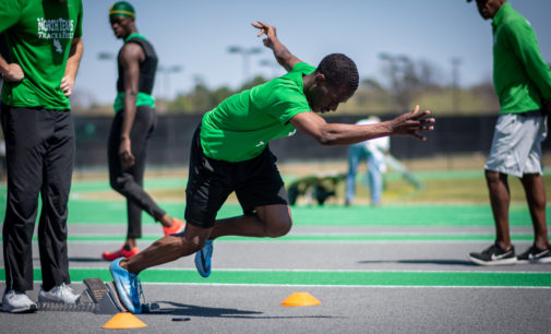 Track record books rewritten on the final day of Texas Relays