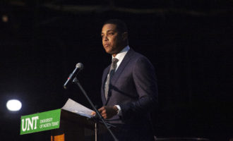 TV journalist Don Lemon talks truth advocacy, shares advice in campus lecture