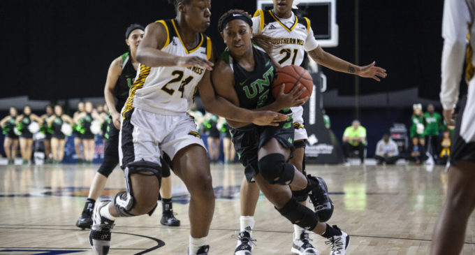 After scoreless start, Mean Green win first round C-USA match-up with Southern Miss