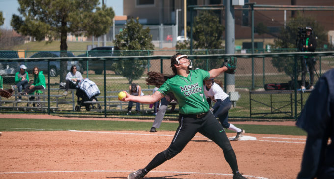 Softball looks to improve mindset in midweek games as they enter the final stretch of their season
