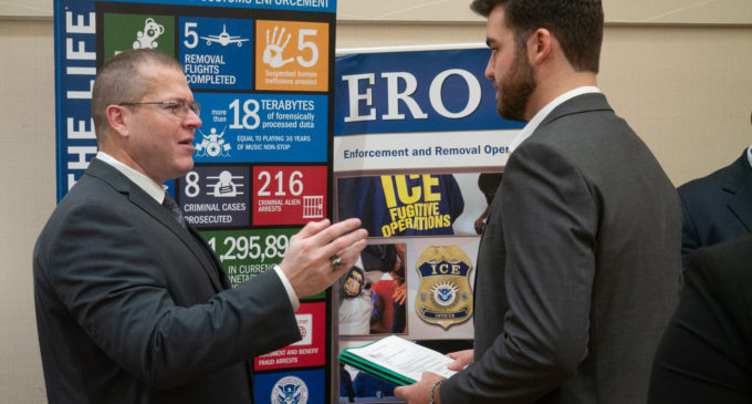 Criminal Justice Career Day brought ICE, CBP agencies to campus