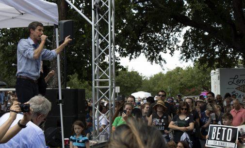 Beto O'Rourke talks bipartisanship, healthcare at Denton town hall