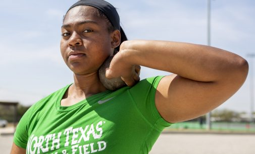 North Texas sophomore journeys from last place to North Texas record holder