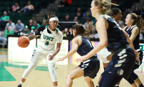 Women's basketball secures second-round victory over Utah State