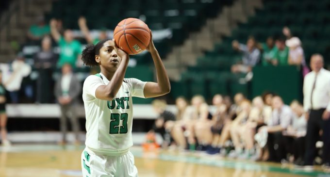 Terriell Bradley sets all-time Mean Green free throw record
