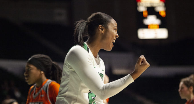Mean Green secure victory in first round of WBI Tournament