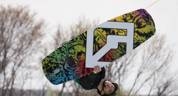 UNT placed in top 3 in first-ever hosted wakeboarding tournament
