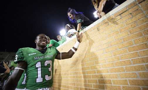 The Mean Green running back dilemma