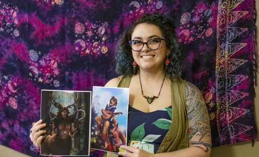 The Seeing Stone brings a dash of 'magick' to Denton with fantasy artwork and jewelry