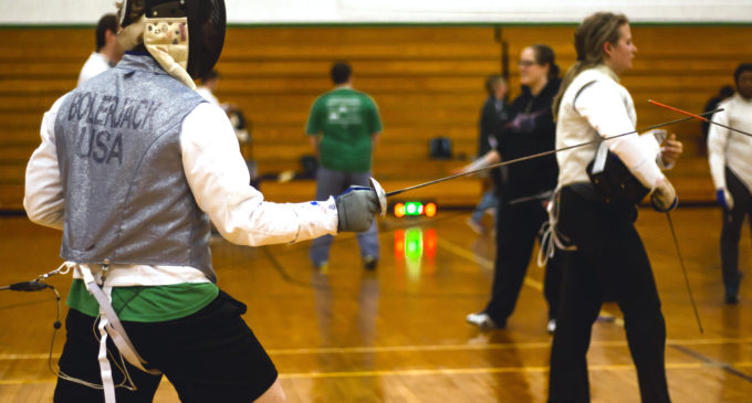 UNT fencer receives national award