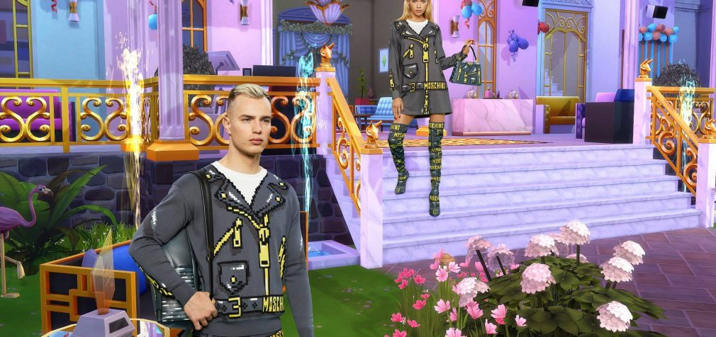 Moschino x The Sims collection gives a glimpse into future of video game fashion