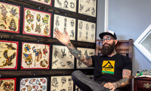 Old Hand Tattoo inks a new spot in Denton