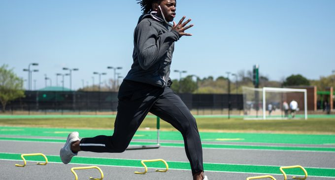 North Texas track and field comes back from California with new personal records