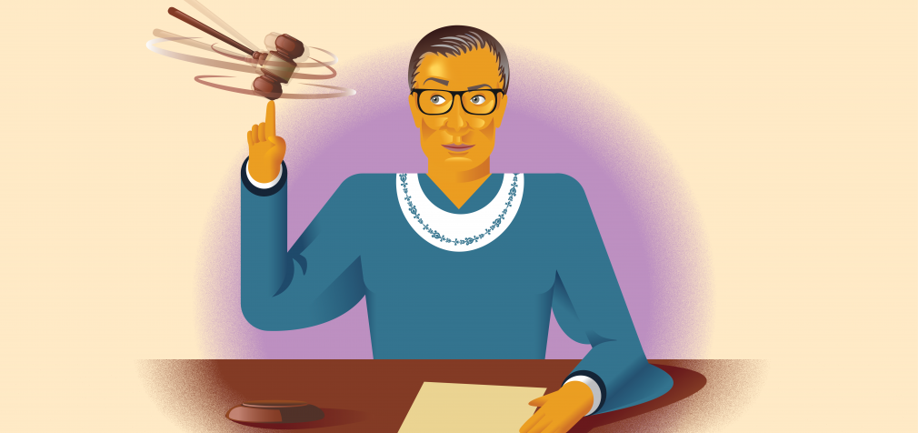 Ruth Bader Ginsburg is a pop culture icon