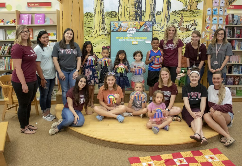 TWU Barnes & Noble Storytime aims to expand literacy for ...