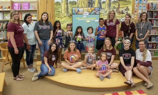 TWU Barnes & Noble Storytime aims to expand literacy for children