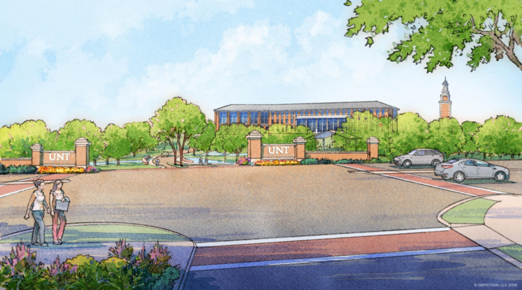Construction of UNT at Frisco to start in the fall of 2020