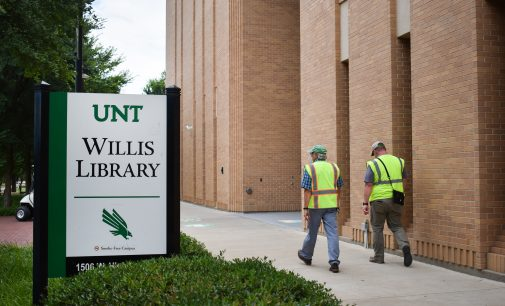 Willis Library undergoing renovations through next year