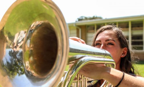 Students dedicate summer to Drum Corps International