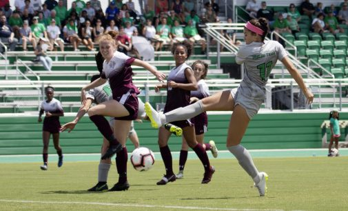 North Texas soccer enjoys early season success in new home stadium