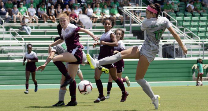 North Texas soccer enjoys early season success in new home stadium