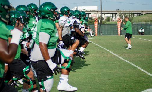 Football prepped for season opener against Abilene Christian