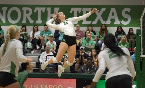 Younger players lead the way for Mean Green volleyball