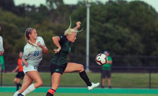 North Texas soccer earns first loss of the season
