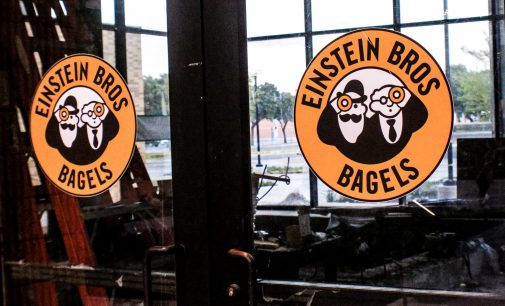 Einstein Bros. Bagels estimated to open in the spring in the Art building