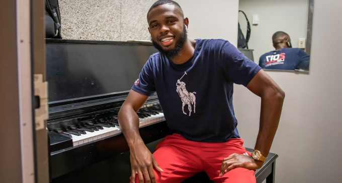 Former track athlete finds passion in music after injury