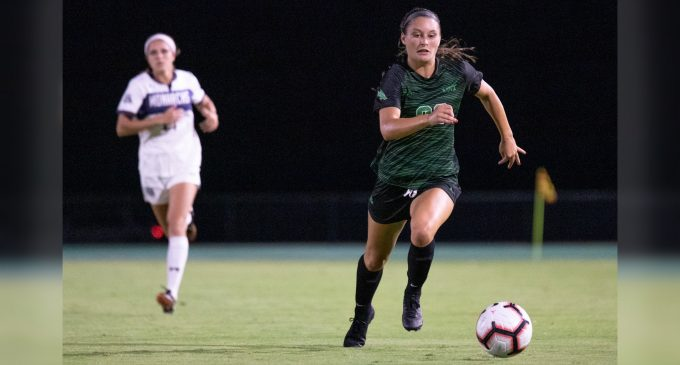 Mean Green soccer hands Old Dominion first loss of the season in conference opener