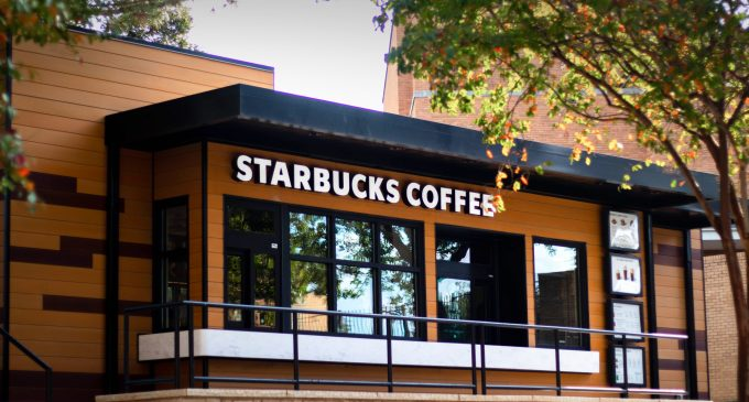 Stand-alone Starbucks now open for business