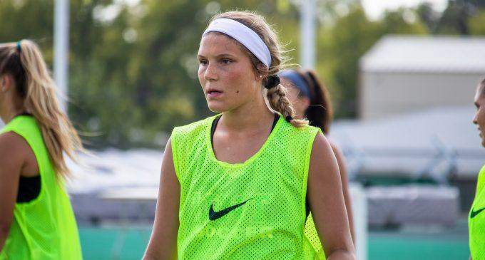Freshman defender has instant impact in her first season