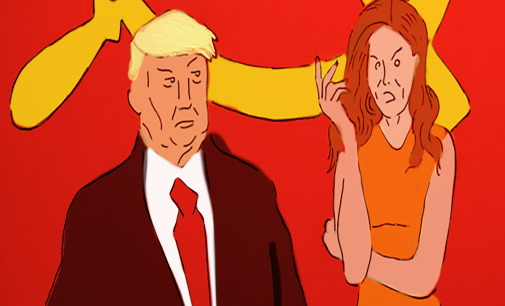 Trump likening Debra Messing's actions to McCarthyism is a lost accusation