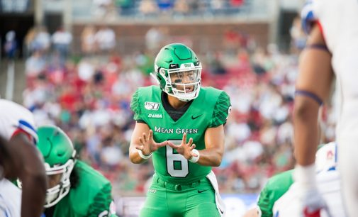 Mean Green falter against Golden Eagles, drop fourth loss of the season
