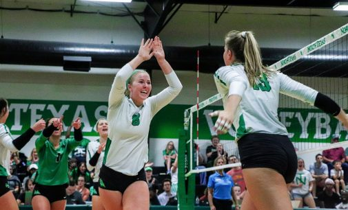 Volleyball captures their second road game in conference