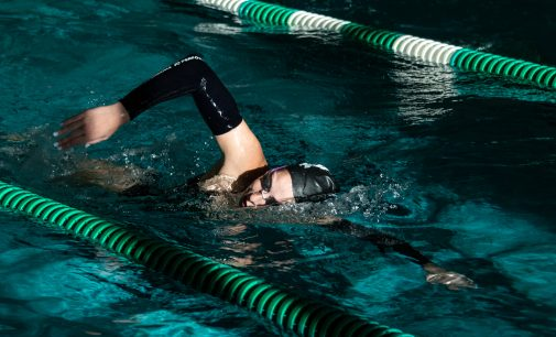 Swim captain leads way for Mean Green in junior season