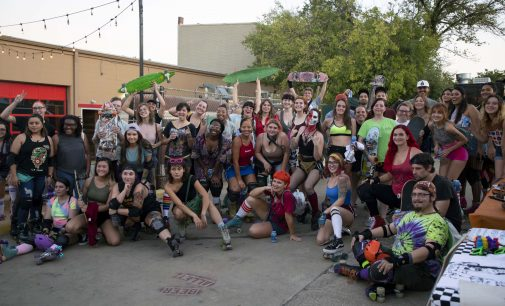 Denton's first Roll Out fosters community, welcomes all