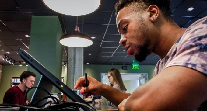 UNT student embraces graphic design with BeAnimated