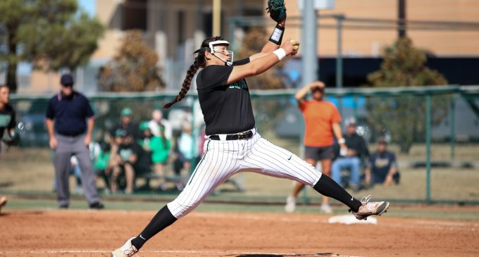 Cowgirls offense too much for Mean Green softball