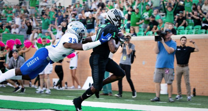North Texas edges out Middle Tennessee in close one at home