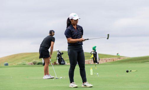 Sophomore golfer utilizes off-season to improve her game