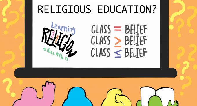 Religion should be left out of the school system